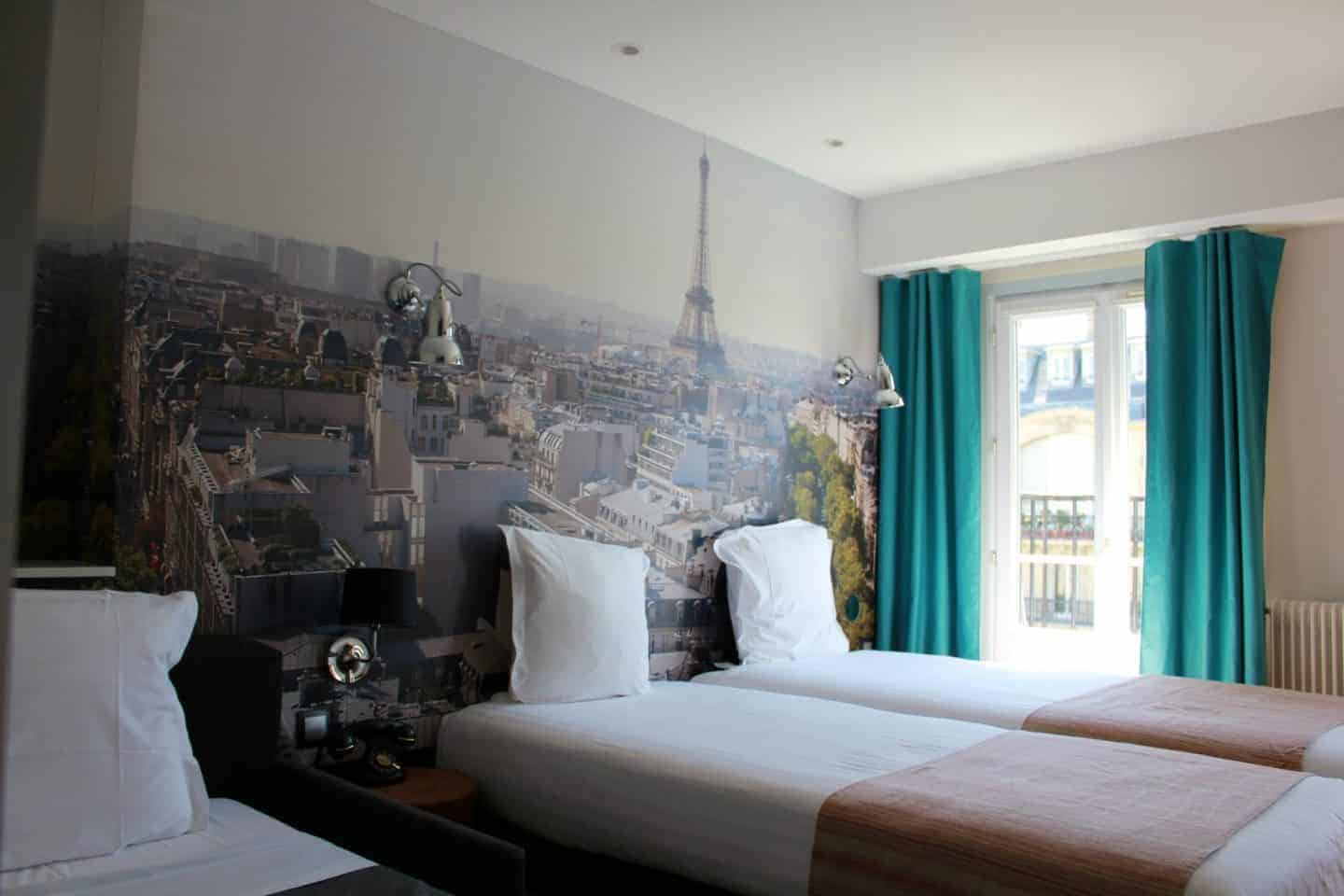 Hotel Stella Etoile in central Paris