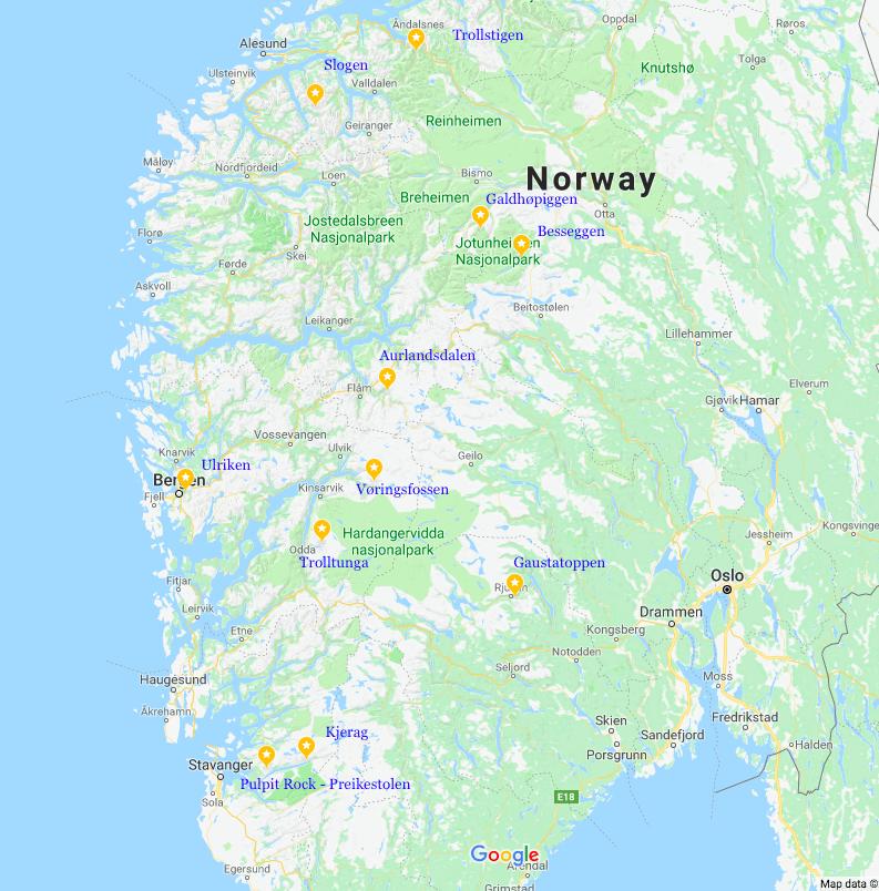 Hiking in Norway, Norwegian mountains, mountains in Norway, hiking in Hemsedal