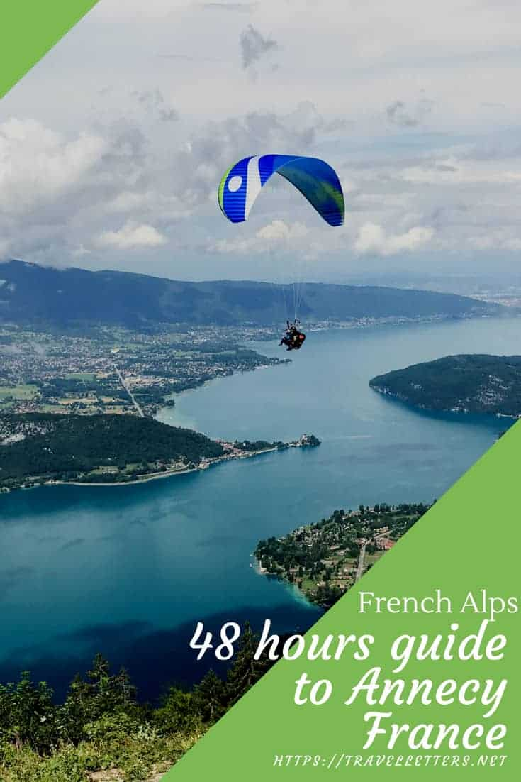 2 days in Annecy itinerary for things to do on your stay