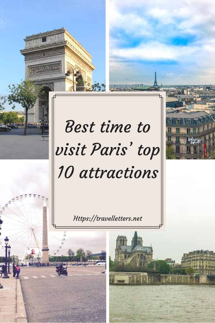 An ultimate guide to best time visiting Paris' top 10 attractions, arrondissement, hotels and places to eat