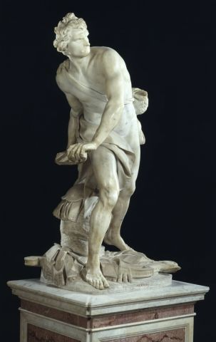 David by Bernini Borghese Gallery, things to do in Rome, St. Peter's Square, St. Peter's Dome in Rome, visit Rome in winter, Rome in winter, winter in Rome, Vatican city, 2-3 days Rome itinerary