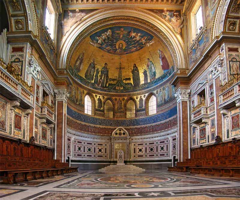 Basilica St. John Lateran in Rome, things to do in Rome, St. Peter's Square, St. Peter's Dome in Rome, visit Rome in winter, Rome in winter, winter in Rome, Vatican city, 2-3 days Rome itinerary