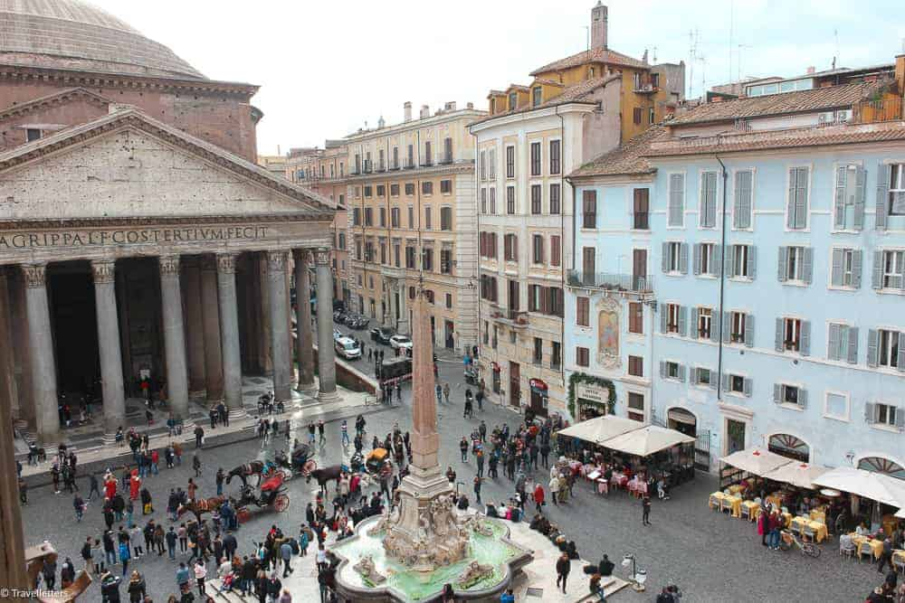 where to stay in Rome, things to do in Rome, St. Peter's Square, St. Peter's Dome in Rome, visit Rome in winter, Rome in winter, winter in Rome, Vatican city, 2-3 days Rome itinerary, hotels in Rome