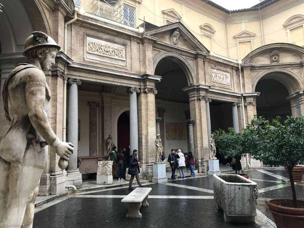 The Vatican Museums, things to do in Rome, St. Peter's Square, St. Peter's Dome in Rome, visit Rome in winter, Rome in winter, winter in Rome, Vatican city, 2-3 days Rome itinerary, vatican city