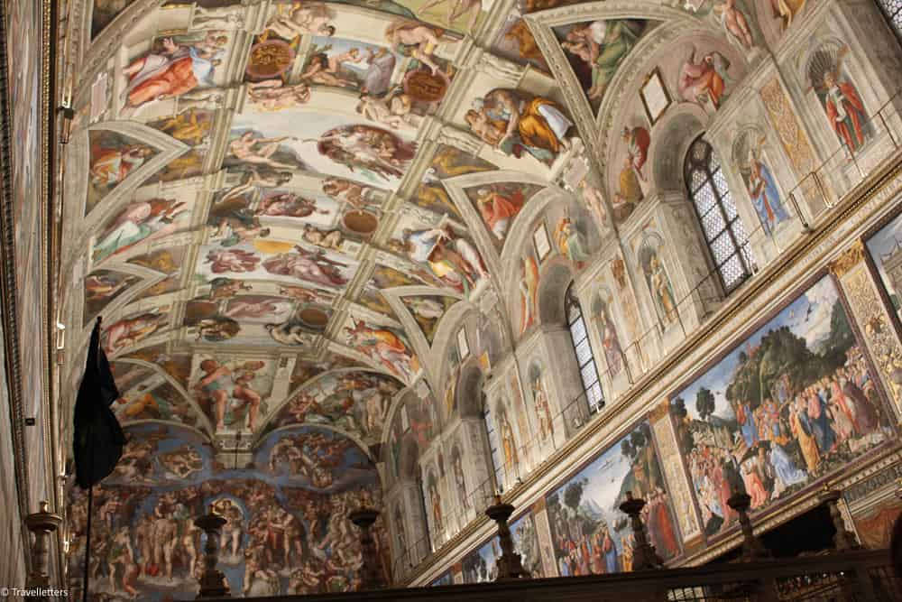 The Sistine Chapel, The Vatican Museums, things to do in Rome, St. Peter's Square, St. Peter's Dome in Rome, visit Rome in winter, Rome in winter, winter in Rome, Vatican city, 2-3 days Rome itinerary, vatican city