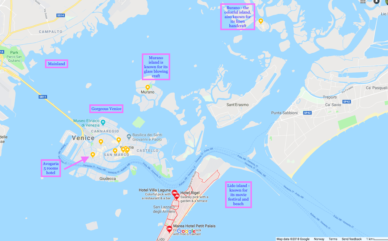 Best time to visit Venice, 3 days Venice itinerary, free things to do in Venice, where to stay in Venice, hotels in Venice,Venice map, map of Venice