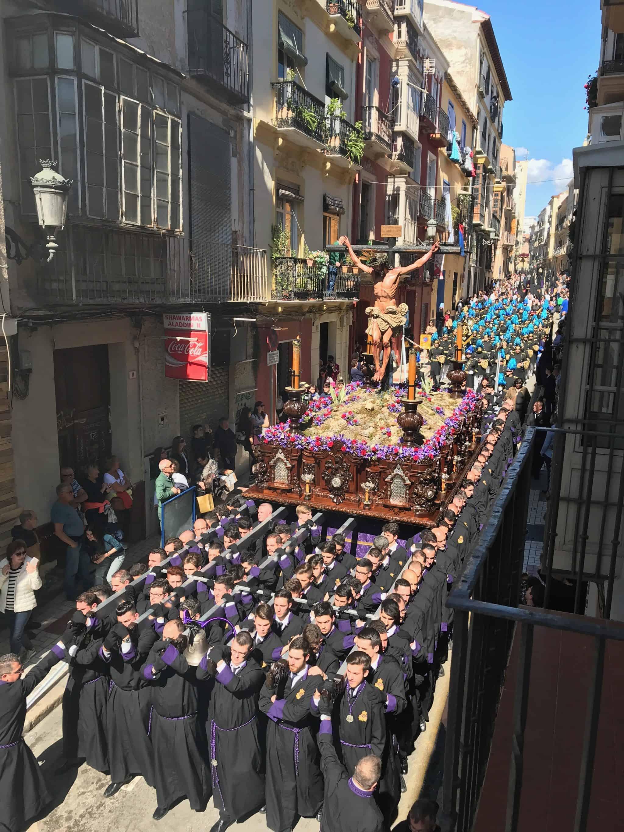 Påskeuken i Malaga, norsk reiseblogg, påskefeiring i Malaga