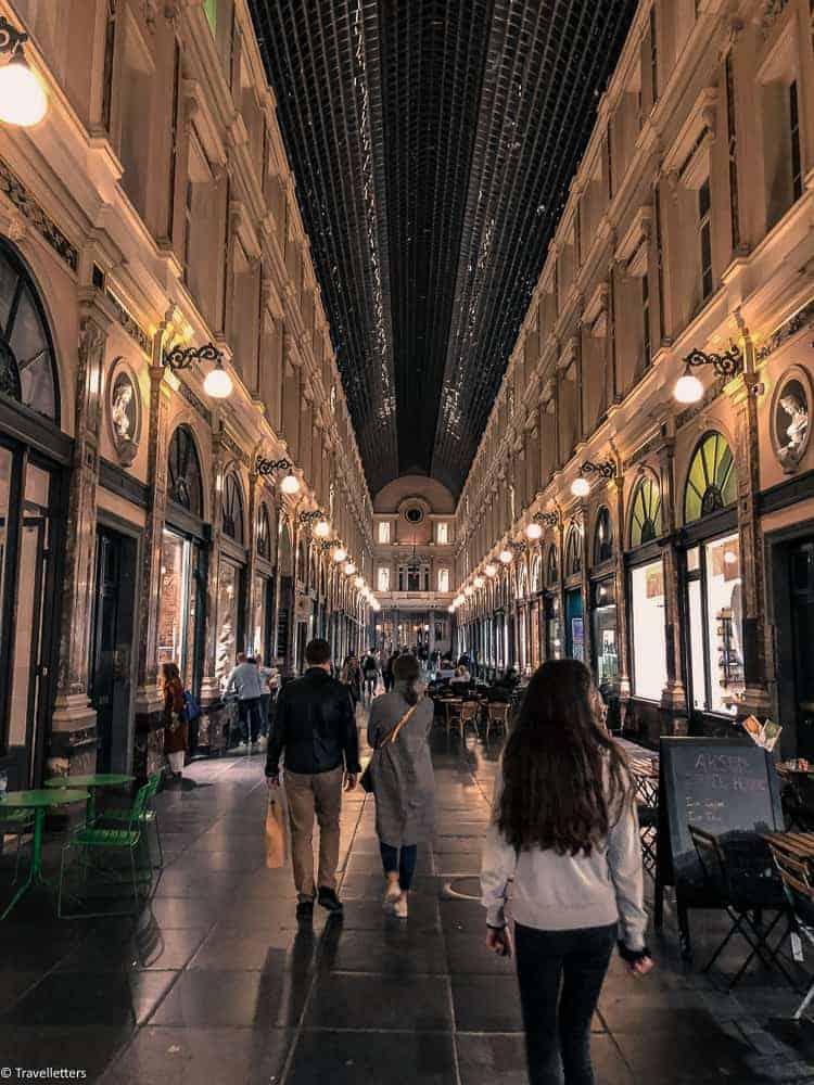 Galeries Royales Saint-Huberti Brussel, Storbyferie i Europa, weekendtur til Brussel, høst destinasjon, beste storby for weekendtur i oktober, ting å gjøre i Brussel, jentetur til Brussel, kjærestetur til Brussel, shopping i Brussel