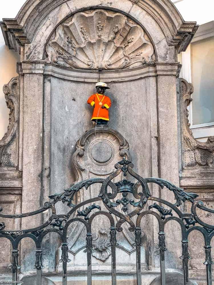 Manneken Pis i Brussel, Storbyferie i Europa, weekendtur til Brussel, hotell i Brussel sentrum, ting å gjøre i Brussel, jentetur til Brussel, kjærestetur til Brussel, storbyferie tips, helgetur i Europa