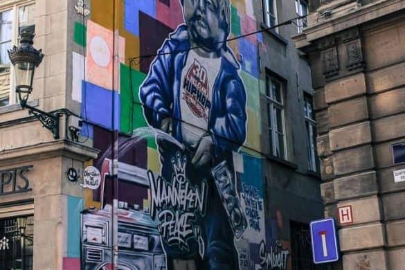 Street art iBrussel