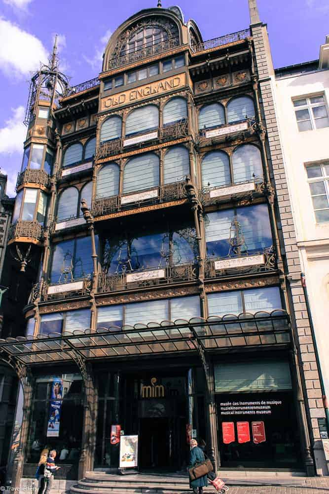 Arkitekturen til MIM-musical instrument museum i Brussel, Storbyferie i Europa, weekendtur til Brussel, hotell i Brussel sentrum, ting å gjøre i Brussel, jentetur til Brussel, kjærestetur til Brussel, storbyferie tips, helgetur i Europa