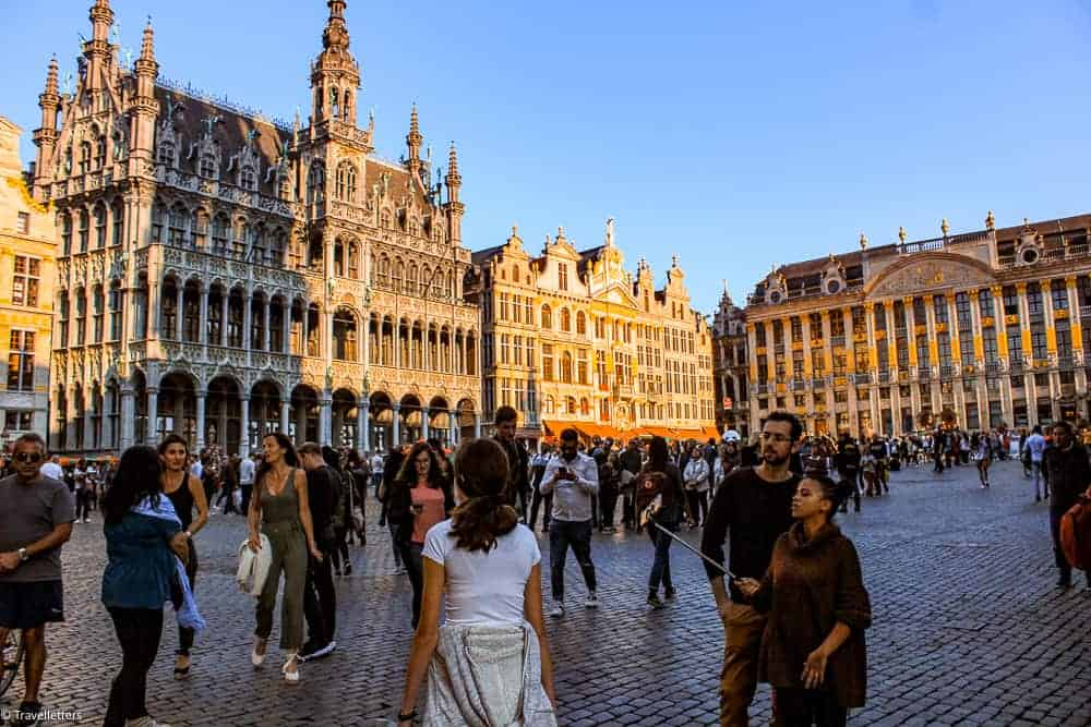 Grand Place i Brussel, Storbyferie i Europa, weekendtur til Brussel, høst destinasjon, beste storby for weekendtur i oktober, ting å gjøre i Brussel, jentetur til Brussel, kjærestetur til Brussel