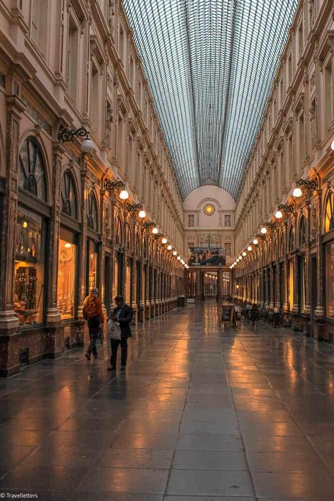 Galeries Royales Saint-Hubert i Brussel, Storbyferie i Europa, weekendtur til Brussel, høst destinasjon, beste storby for weekendtur i oktober, ting å gjøre i Brussel, jentetur til Brussel, kjærestetur til Brussel