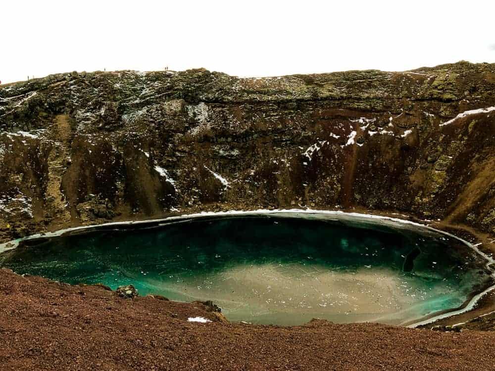 weekendtur til Reykjavik, Island, Golden Circle, Kerid krater, helgetur til Reykjavik Island