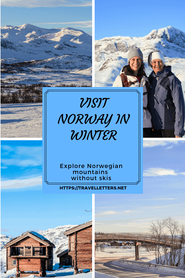 Visit Norway in winter and explore Norwegian mountains without skis