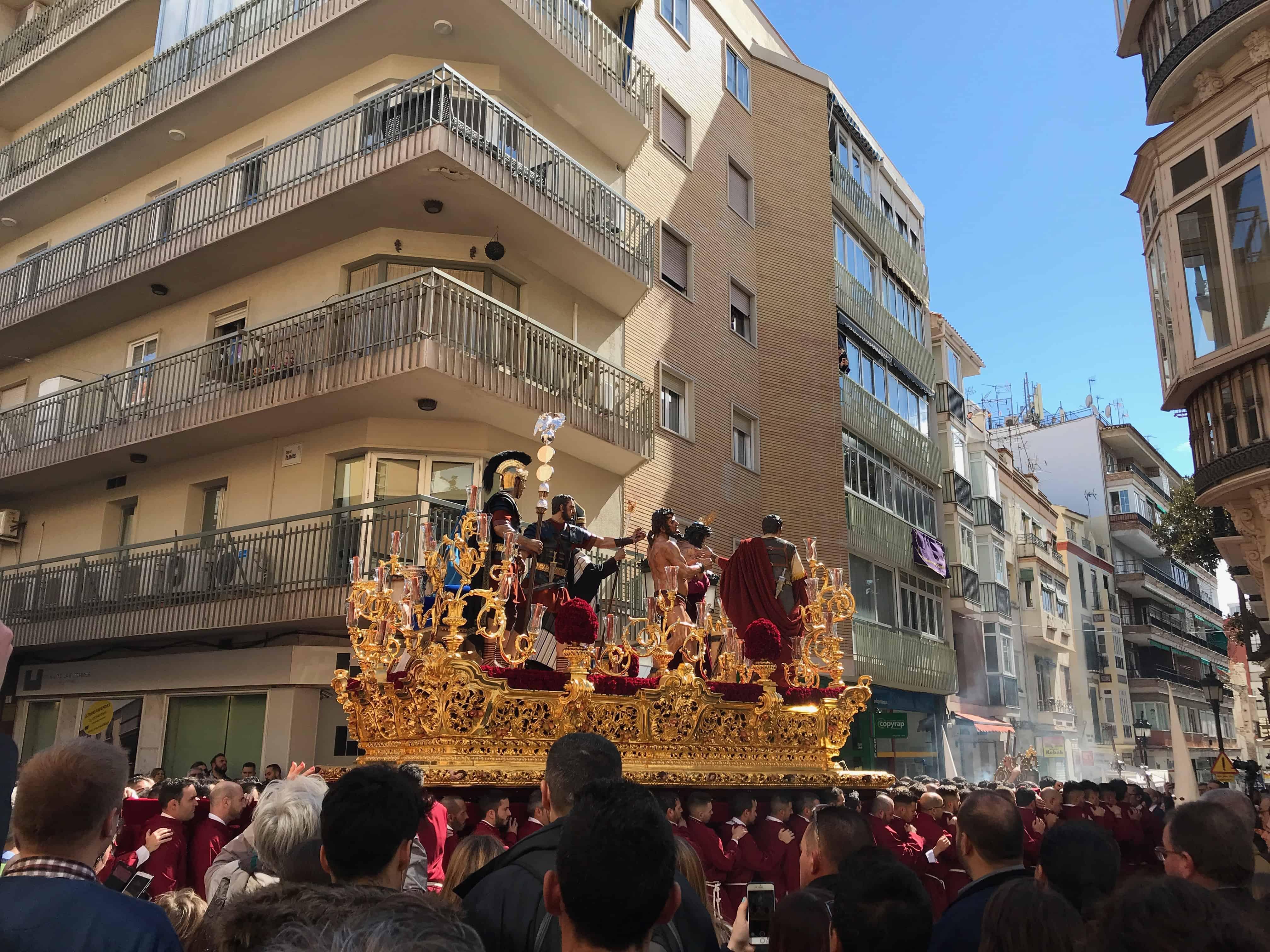 Semana Santa in Malaga Spain, Holy Week in Malaga Spain, processions in Malaga