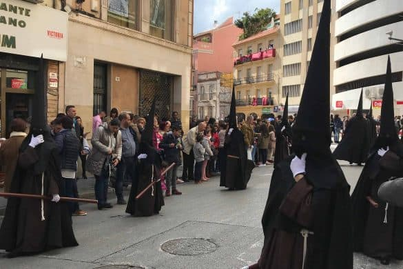 Processions in Malaga, Semana Santa in Malaga Spain, the Holy Week in Malaga Spain