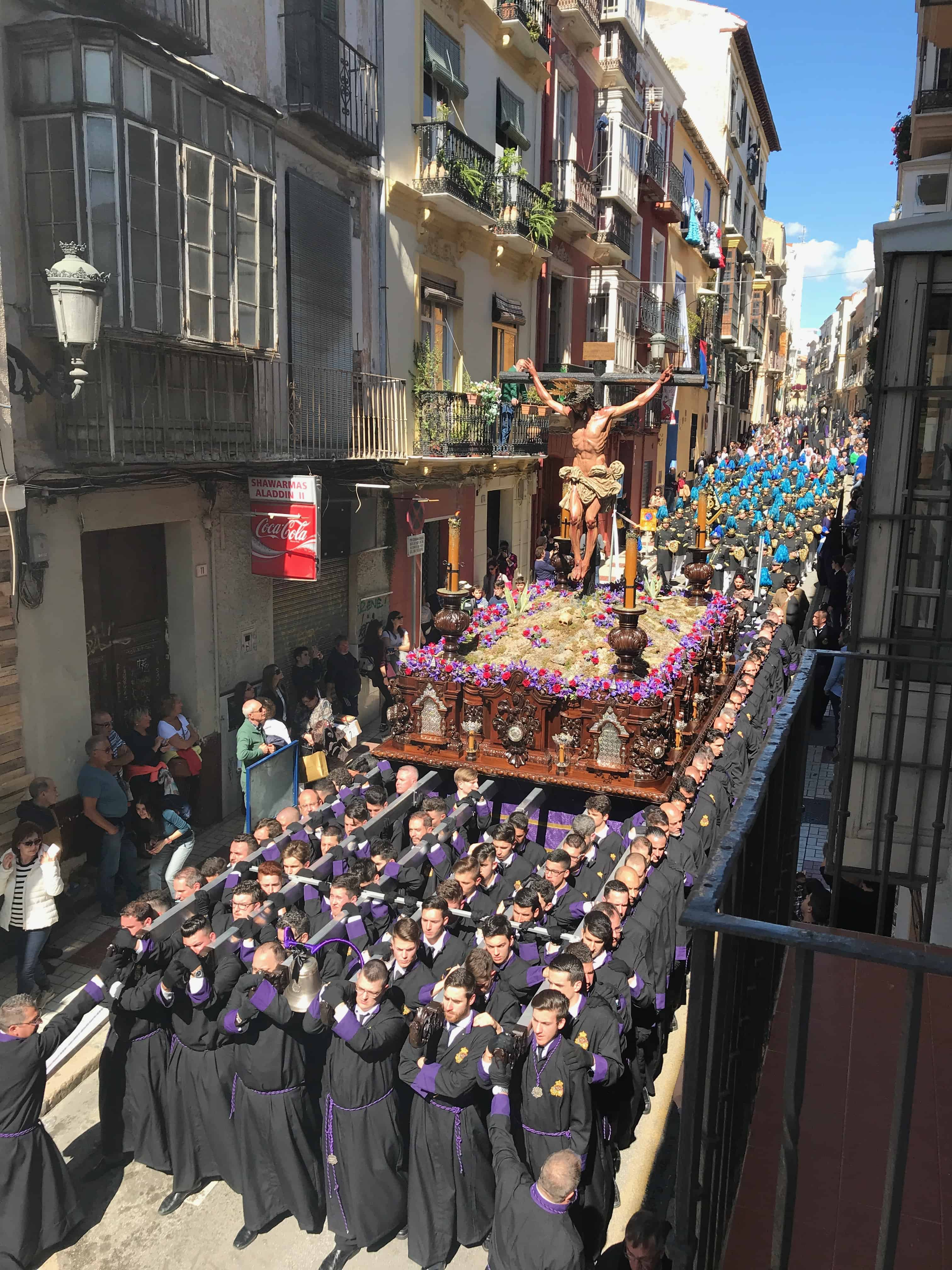 Processions in Malaga, Semana Santa Malaga Spain, Holy Week in Malaga Spain