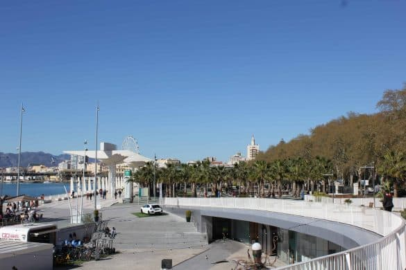 things to do in malaga, malaga facts, where to stay in malaga, free things to do in malaga, malaga airport transfer, Artsenal on the Promenade in Malaga