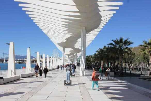 things to do in malaga, malaga facts, where to stay in malaga, free things to do in malaga, malaga airport transfer, The Promenade in Malaga