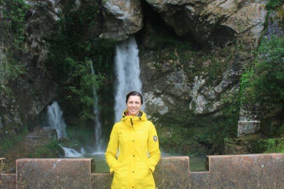 Picos de Europa nasjonalpark, Asturias, Nord-Spania, Spania, Cavadonga, hellige grotte