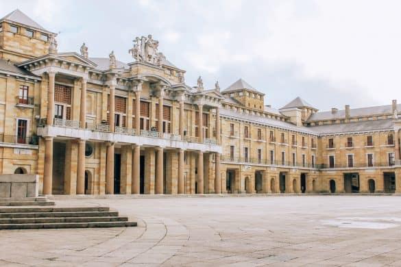 Asturias, Nord-Spania, Spania, gijon, Universidad Laboral