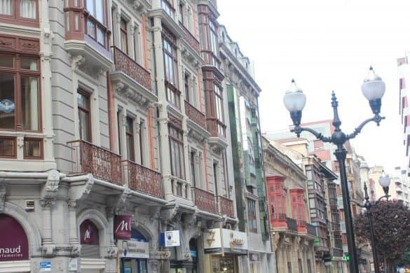 Asturias, Nord-Spania, Spania, gijon, shopping i Gijon