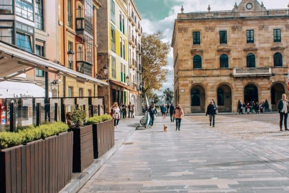 Asturias, Nord-Spania, Spania, gijon, gamlebyen Gijon