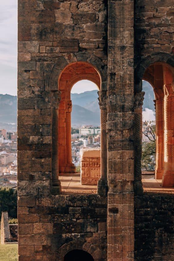 Asturias, Nord-Spania, Spania, Oviedo, historisk Oviedo