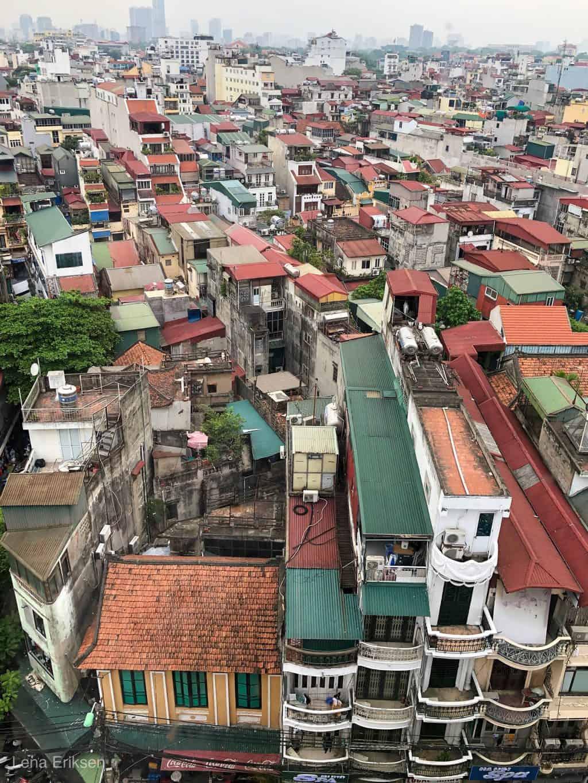 Hanoi ovenfra