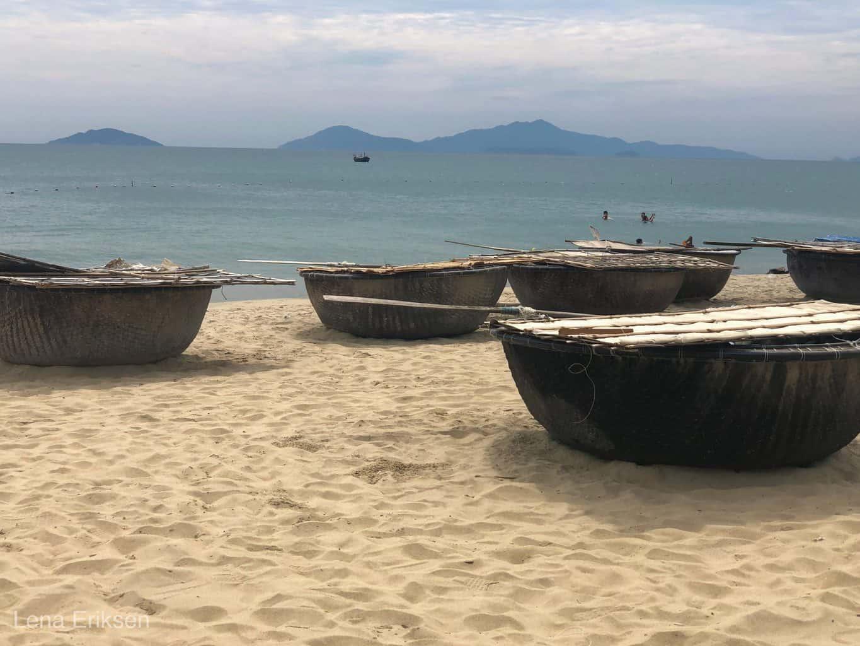 An Bang strand i Hoi An, Vietnam