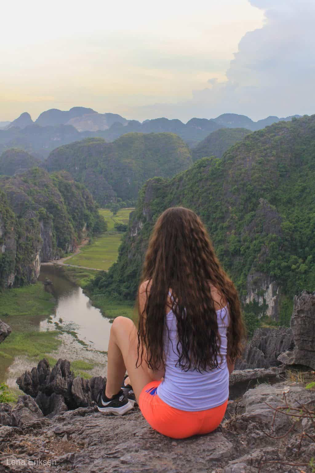 Mua Caves i Tam Coc, Ninh Binh, Vietnam