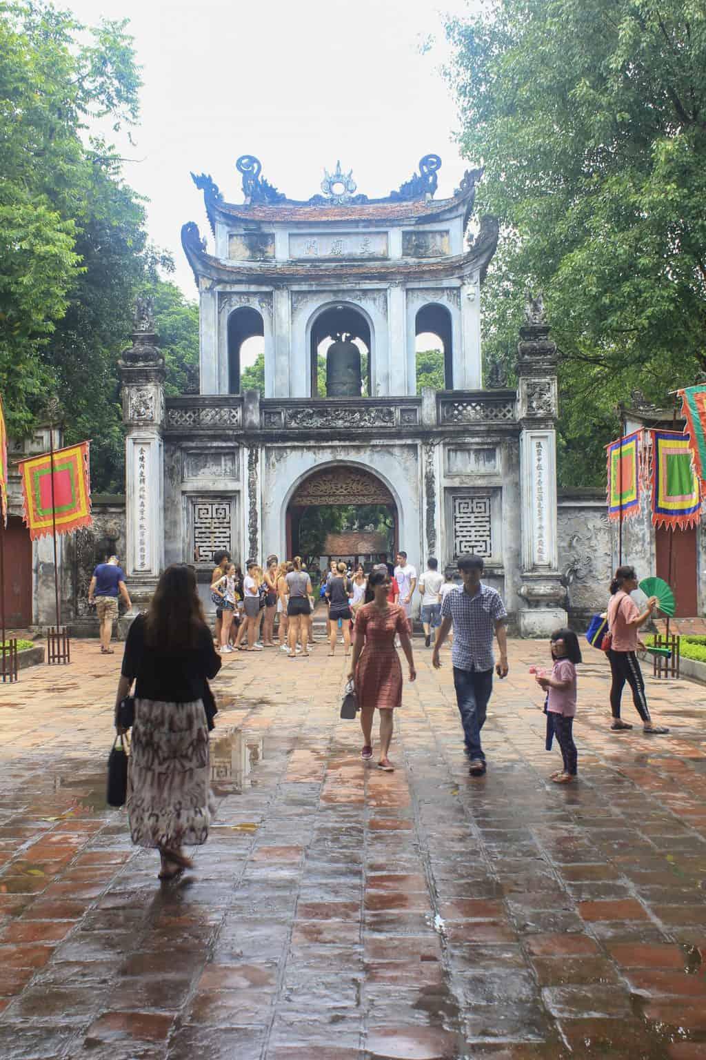 Litteraturtemplet i Hanoi